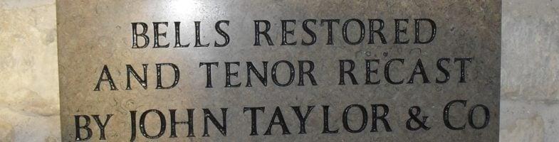 Shroton Bells Rededicated