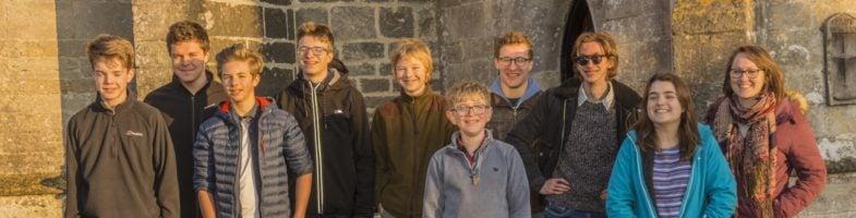 East Dorset Young Ringers at Wareham